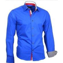 0002d8ba8c6 Binder De Luxe košile pánská 82306 dlouhý rukáv Modrá