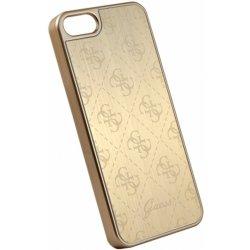 Pouzdro Guess 4G Aluminium iPhone 5 5S SE zlaté od 399 Kč - Heureka.cz e21de83f5d5