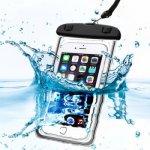 Pouzdro SES Univerzální vodotěsné Apple iPhone 6 7 8 X - černé