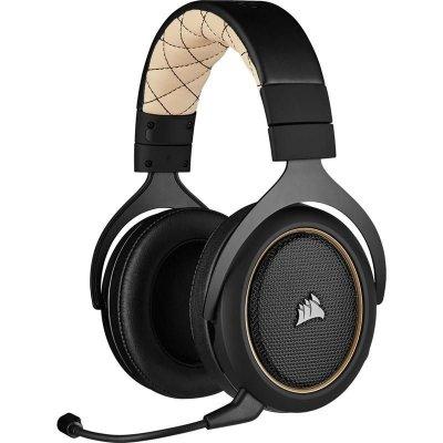 Headset Corsair HS70 Pro Wireles černý/béžový (CA-9011210-EU) (PC)