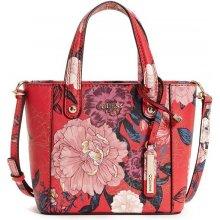 Guess Kamryn Mini Floral Tote červená f943cfa2082