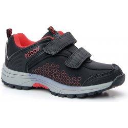 Dětská bota Peddy PZ-509-26-02 softshell dětské tenisky černé ff4f8d91697
