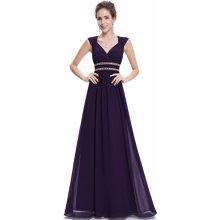 1fdb42d4422b Ever-Pretty šaty inspirované antikou ze šifonu EP08697DP tmavě fialová