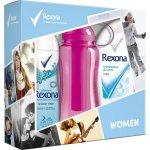 Rexona Freshness&Care sprchový gel 250 ml + Fresh Shower Clean dedorant spray 150 ml + sportovní láhev 500 ml dárková sada