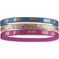 b51a9f5b969 Čelenka Nike Čelenky Metallic Hairbands se silikonem (3ks) VÍCE BAREV