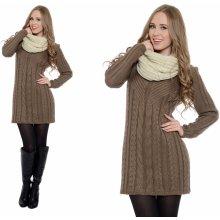 Fashionweek Tlustý zimní pletený svetr 384d789f32