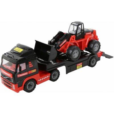 Wader Polesie mammoet volvo vozík-tahač + traktor-nakladač 56733
