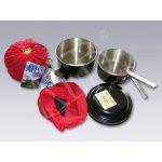 AI-INOX kempinkové nádobí čtyřdílné - nerezové