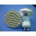 XwLED žárovka 4W 60xLED GU10 230V 360 lm teplá bílá