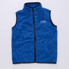 Chlapecká flísová vesta-Wolf B2793 Modrá