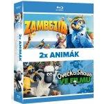Blu ray Animák kolekce: Ovečka Shaun ve filmu / Zambezia 3D
