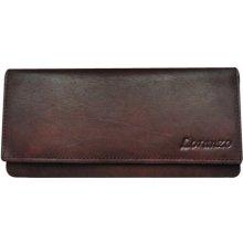 Loranzo Dámská kožená peněženka 438 tmavě hnědá 2a2c0b4387