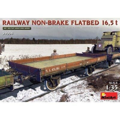 Miniart železniční otevřený vagon 16 5 t Rusko 1:35