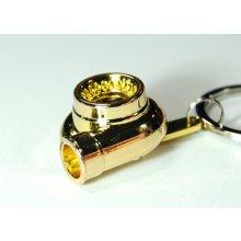 Přívěsek na klíče Turbo Zlatá