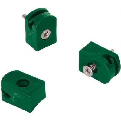 Držák napínacího drátu, tex, barva zelená - balení 10 ks