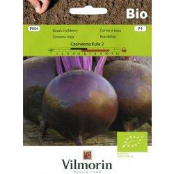 Vilmorin Červená řepa – Červená koule 2 BIO 10 g