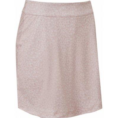 FootJoy W sukně Interlock Print světle růžová