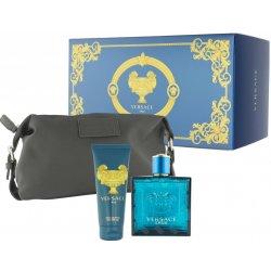 Versace Eros EDT 100 ml + sprchový gel 100 ml + etue dárková sada ... 7515652e76