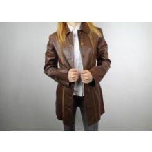 EU dámský kožený kabátek GR/0016