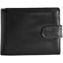 HELLIX pánská kožená peněženka P-1202 černá