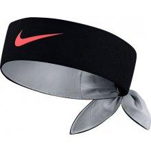 Nike Čelenka Court Tennis Headband BLACK/HOT PUNCH