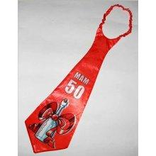 Žertovná kravata k 50