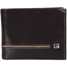 GIUDI pánská černohnědá kožená peněženka 6954