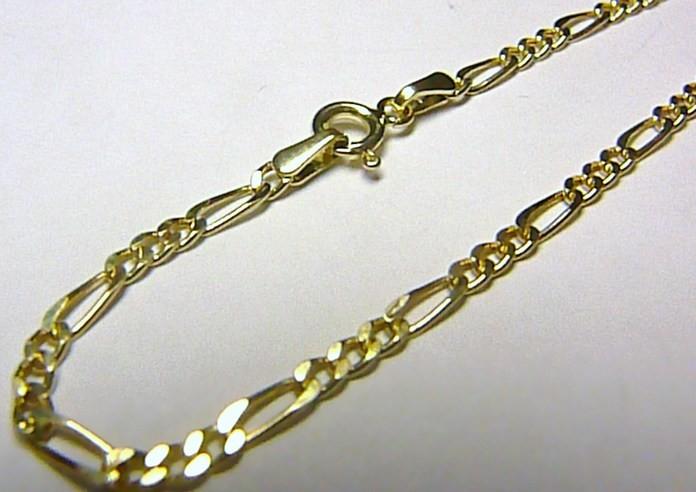 4672fda49 Náramek silný dámský luxusní zlatý FIGARO H545 od 1 590 Kč - Heureka.cz