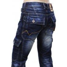 M. SARA kalhoty pánské KA6819 kapsáče jeans