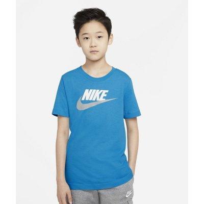 Nike chlapecké tričko Sportswear modrá