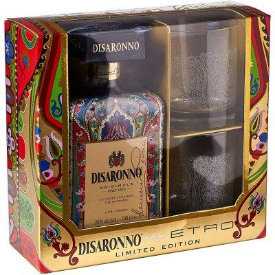 Amaretto Disaronno Originale Etro 2 sklenice 28 % 0,7 l