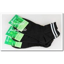 de9102b7174 Pesail pánské bambusové zdravotní kotníkové ponožky 3 páry