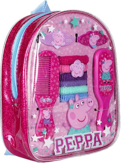 Sada vlasových doplňků v batůžku Peppa Pig (Dárková sada Pepinka)  alternativy - Heureka.cz 30b37ada9d9