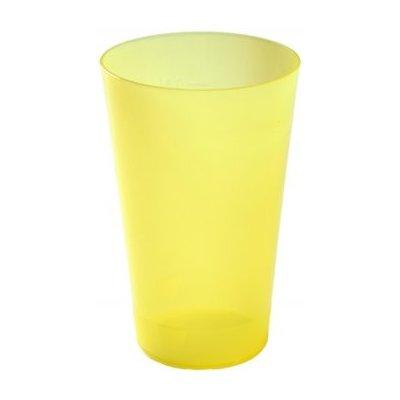Injeton Plast Vratný kelímek žlutá 500 ml