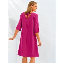 dc1056ba2015 Blancheporte šaty s výstřihem a vázačkou vzadu malinová