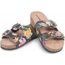 Fit Walk korkové pantofle květiny