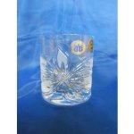 Blažek Glass Skleničky na whisky olovnatý křišťál, Orchidej 36ks 30 ml