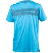 Northfinder TR-.3229SII pánské triko tyrkysové