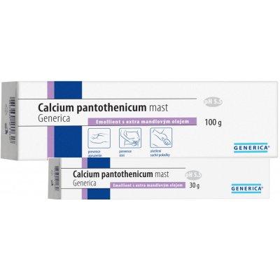 Generica Calcium pantothenicum mast 30 g