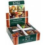 Jones - Variace ochucených černých čajů papír 4 x 10 x 1,5 g