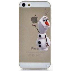 Pouzdro Apple iPhone 5 5S Funny Frozen Olaf Ledové Království ... c3b5168f302