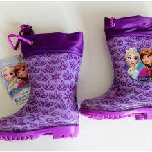 Setino dívčí gumáky/holínky Frozen fialové