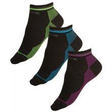 Litex Sportovní ponožky polovysoké 99637 reflexní zelená