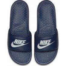 Nike Benassi JDI TMAVĚ MODRé