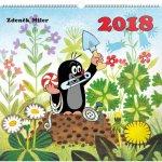Kalendář nástěnný 2018 - Krteček