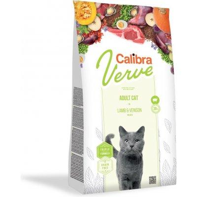 Calibra Cat Verve GF Adult Lamb & Venison 8+ 750 g