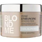Schwarzkopf Blondme (Tone Enhancing Bonding Mask Cool Blondes) 200 ml