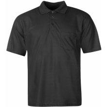 Donnay Pocket Polo Shirt Mens Black