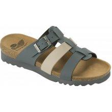 1137e85620 Scholl KALEA tmavě zdravotní pantofle béžové šedé