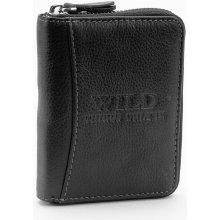 WILD Pánská kožená peněženka 5508 černá abf59866eb
